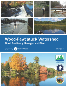 Wood-Pawcatuck Watershed Flood Resiliency Management Plan