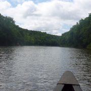 Canoeing in the Middle Cedar River