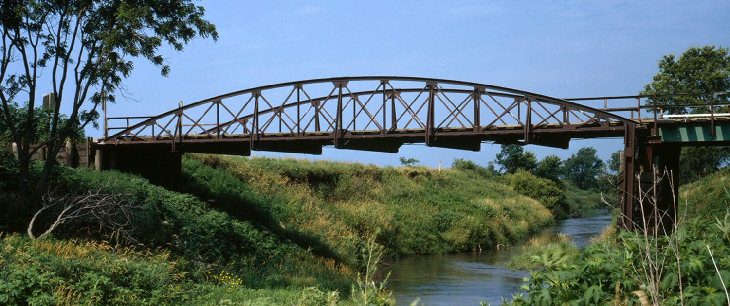 Photo of bridge in the Nishnabotna River Watershed