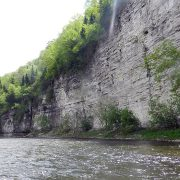 Canoers on the Upper Iowa River