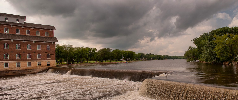 Upper Wapsipinicon River Dam