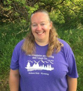 Angela Auel, Upper Wapsi project coordinator
