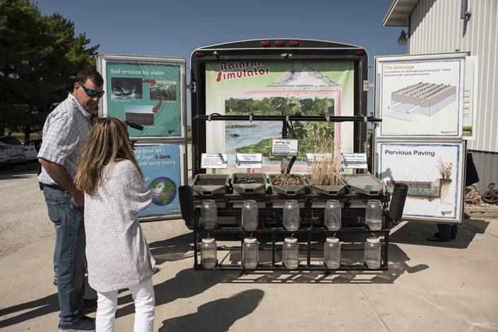 ISU conservation station trailer