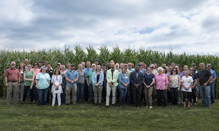 North Carolina Visitors group photo