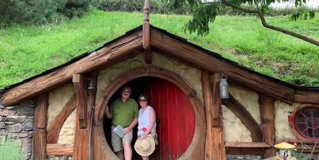Mark Kennett and wife in New Zealand